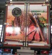 Groenveld Vlees Vrachtwagen