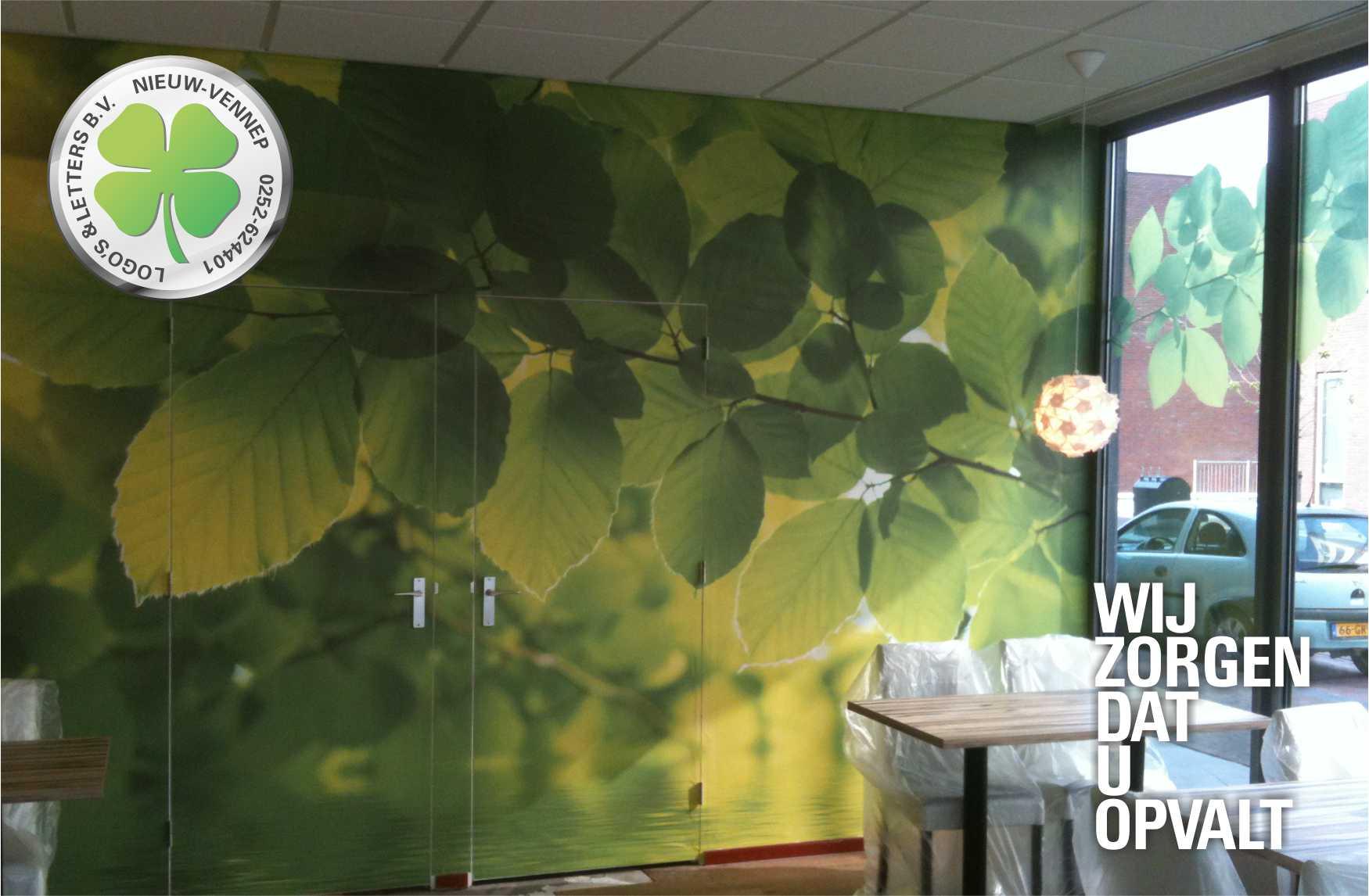Wand decoratie horeca