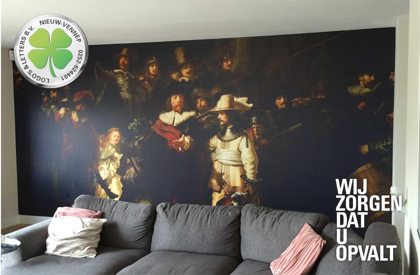 Wand visual Nachtwacht